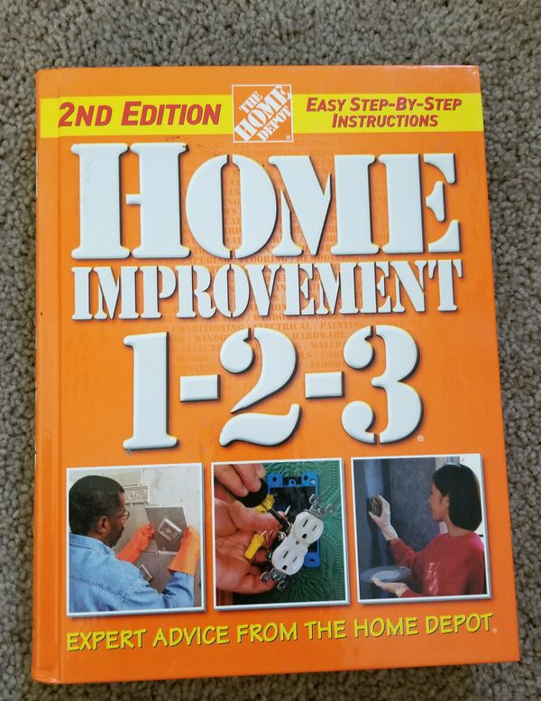 Home Depot Home Improvement Book For Sale In Lakeside Ca Offerup