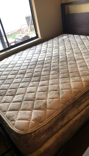 TWO box springs ONE Mattress! for Sale in Sacramento, CA