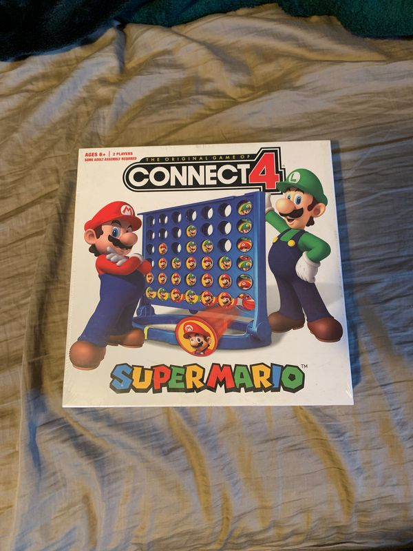 Connect 4 Super Mario
