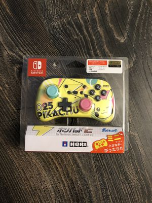BRAND NEW! Hori Pokémon Pikachu Mini Controller for Nintendo Switch for Sale in San Leandro, CA
