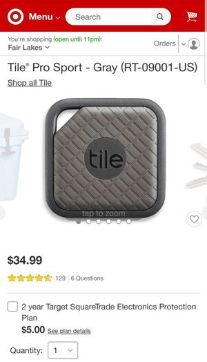 Tile Sport Pro Series, Find all your things for Sale in Manassas, VA