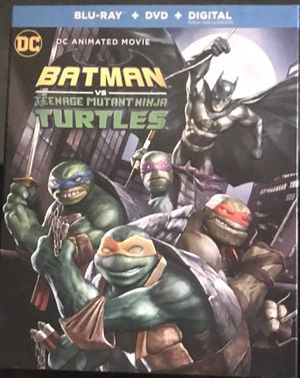 Batman VS The Ninja Turtles Blu-ray +DVD Combo Pack for Sale in Wadsworth, OH