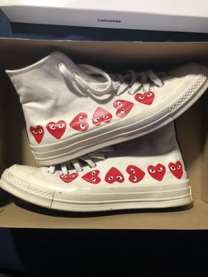 comme des garcons converse size 9 for Sale in Orlando, FL