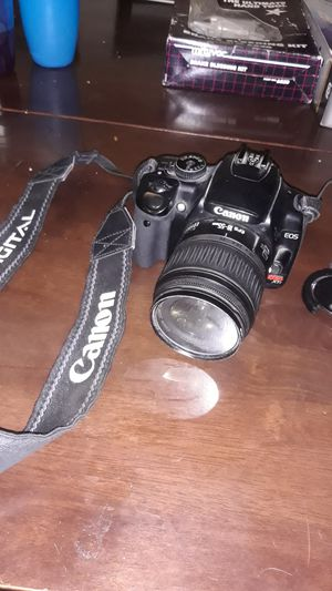 Cannon reble xti camera no charger male offers for Sale in Anaheim, CA