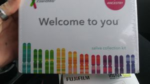 23 and me saliva testing kit for health and ancestory for Sale in Seattle, WA