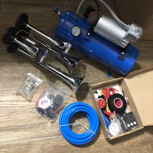 New train horn kit, wireless remote for Sale in Beaumont, TX