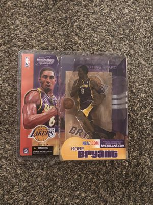 Los Angeles Lakers Kobe Bryant #8 McFarlane's NBA Series 3 Action Figure Brand New for Sale in Clovis, CA
