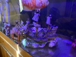Shipwreck fish tank bubbler decoration for Sale in Lake Wales, FL