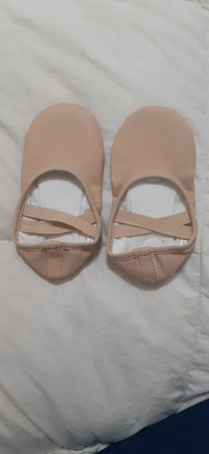 Ballet Shoes Split Sole size 10 Kids Tan for Sale in Kissimmee, FL
