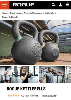 Rogue Fitness   Kettlebells   1x 53lb & 1x 70lb   CrossFit for Sale in Oak Ridge, NC