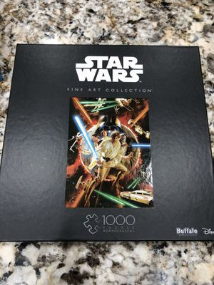 Buffalo Games & Puzzles Star Wars Episode 4 1000 Piece Jigsaw Puzzle for Sale in Cooper City, FL