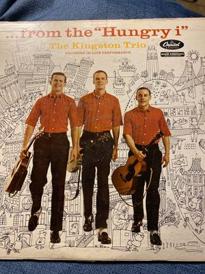"""Vinyl Kingston Trio """"... from the Hungry i"""" Album for Sale in Spanaway, WA"""