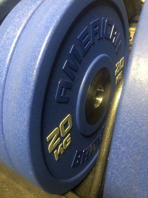 American barbell bumper plates for Sale in Stockton, CA