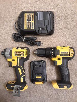 DeWalt 20 volt drills battery and charger for Sale in Roseville, CA