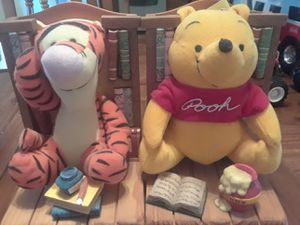 Winnie the Pooh Bookends for Sale in Palmyra, PA