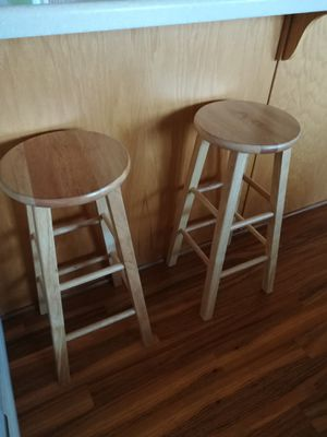 2 counter height bar stools for Sale in South Jordan, UT