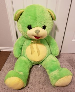3' Plush Yellow/Lime Green Teddy Bear 🐻 for Sale in Bethany, OK