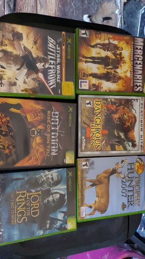 9 X box games for Sale in Piedmont, SC