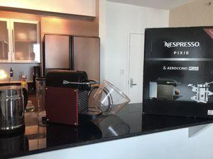 Nespresso Pixie D60 Espresso Coffee Capsule Machine Maker RED for Sale in Miami, FL