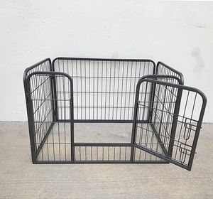 "New $55 Heavy Duty 37""x25""x24"" Pet Playpen Dog Crate Kennel Exercise Cage Fence, 4-Panels Play Pen for Sale in Pico Rivera, CA"