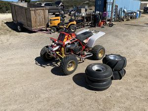 1995 Yamaha Banshee with 4 extra wheels and paddles for Sale in Campo, CA