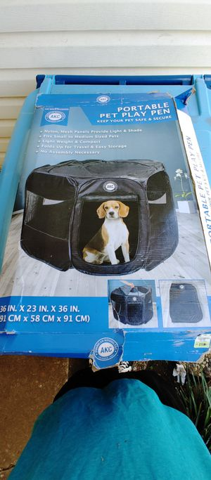 Dog play pen kennel for Sale in Oklahoma City, OK