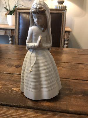 Nao Lladro Figurine Bride or Communion for Sale in Greenville, SC