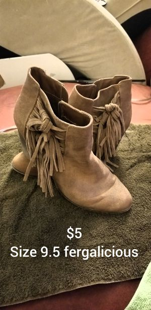Fergalicious!! 9.5 cute boots! $5!! for Sale in Golden, CO