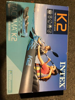 Intex k2 inflatable kayak boat NEW for Sale in Norcross, GA