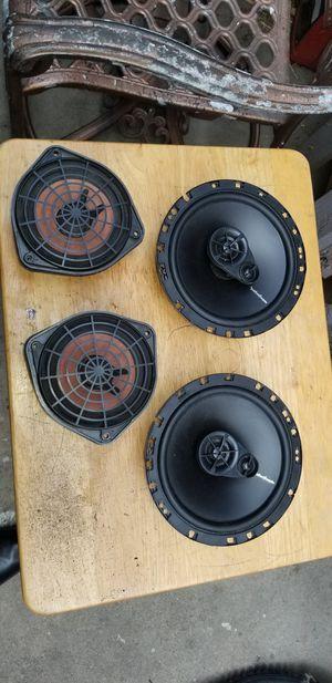 2 Rockford speakers 6/5 y 2 5/5 bose en perfecto estado $70 for Sale in Glendora, CA