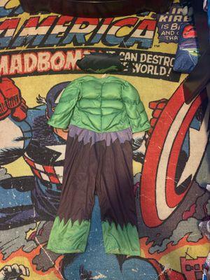 Hulk Toddler Boys Halloween Costume for Sale in Deltona, FL