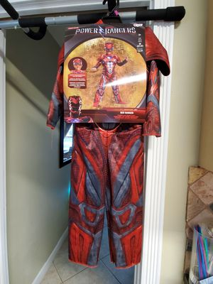 Red Power Ranger Toddler Costume for Sale in Fort Lauderdale, FL