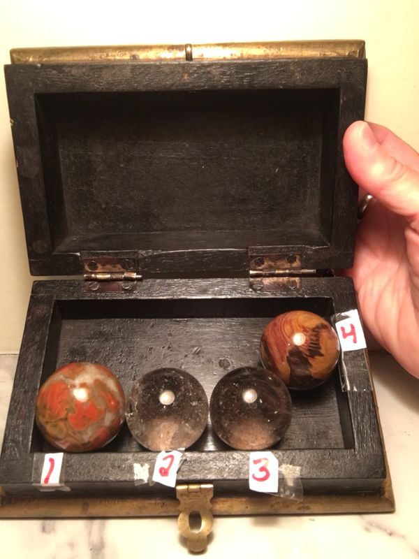 """4, 2"""" spheres"""