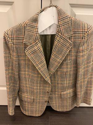 Burberry Tweed Blazer 40S for Sale in Atlanta, GA