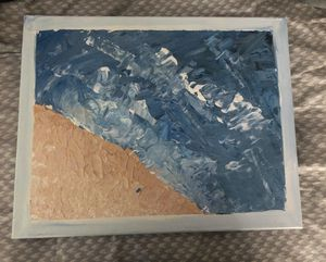 abstract beach painting for Sale in Lancaster, KY