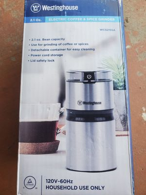 $35 WESTINGHOUSE COFFEE AND SPICE GRINDER for Sale in Las Vegas, NV