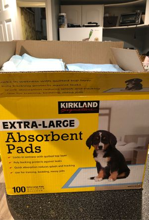 Kirkland puppy pads for Sale in East Islip, NY