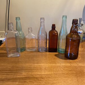 Antique Glass Bottles for Sale in Trumbull, CT