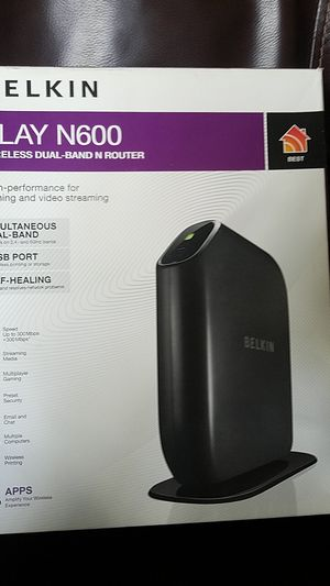 Berlkin N600 wireless dual band n router for Sale in Orlando, FL
