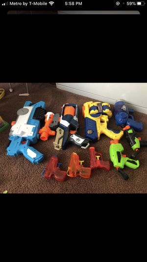 Kids nerf gun and water gun all for $10 for Sale in Norwalk, CA