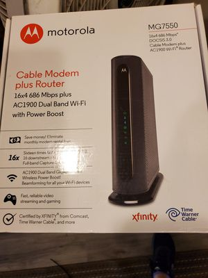 Cable Motem Router for Sale in El Cajon, CA