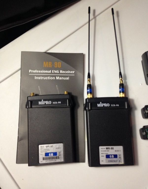 MIPRO MR-90 100ch ENG Recevier