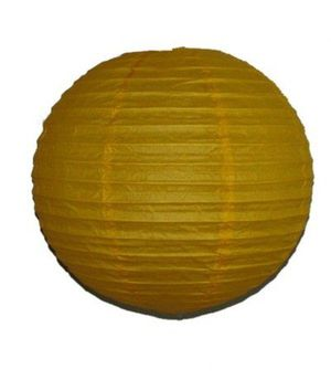 """Wholesale Lot 24 Pack - Party Paper Lantern-Round 12""""-Luau Supplies- Oriental/Chinese Lamps - Yellow for Sale in Kissimmee, FL"""
