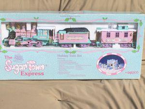 Precious moments sugar town express musical train set for Sale in Dinuba, CA