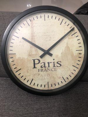 Paris clock never used for Sale in Davie, FL