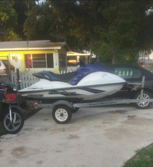 2001 Yamaha gp1200r with trailer for Sale in Sebring, FL