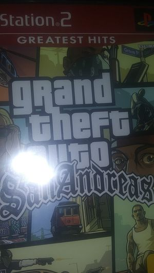 Ps2 game for Sale in El Cajon, CA