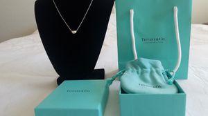 Tiffany &Co elsa peretti bean necklace for Sale in Richmond, TX