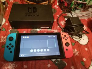 Nintendo switch like new for Sale in Irving, TX