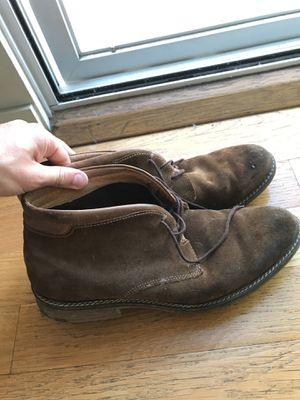 Alfani brown men's leather boots - size 13 for Sale in Los Angeles, CA